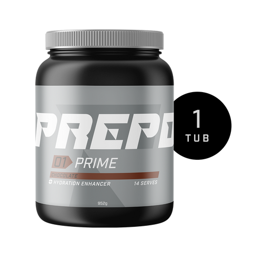 PREPD - 01 Prime - Hydration Enhancer - 14 Serve Tub - Choc OR Vanilla