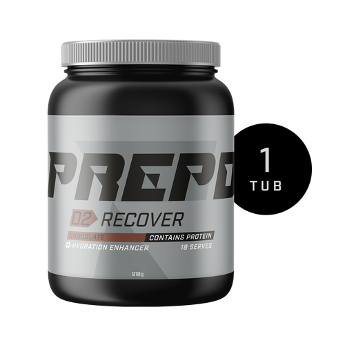 PREPD - 02 Recover - Hydration Enhancer - 18 Serve Tub- Choc OR Vanilla
