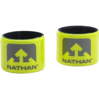 Nathan Sports - Reflective Snap Bracelets - Hi Viz Yellow