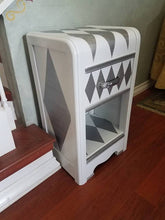 Upcycled Vintage 1930's Art Deco Nightstand