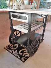 Reimagined Stylish Vintage Tea Cart