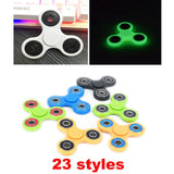23 Colors Tri-Spinner Fidget Toy Plastic EDC Hand Spinner For Relieve Stress ADD & ADHD Focus Toys Kids Birthday Gift