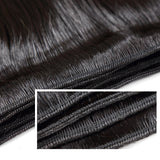 Luvin Brazilian Virgin Hair Straight 100% Human Hair Weave Bundles Unprocessed Hair Weft Free Shipping