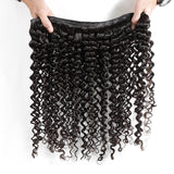 Luvin Malaysian Virgin Hair Deep Wave 100% Curly Weave Human Hair Bundles Unprocessed Natural Color Shipping Free