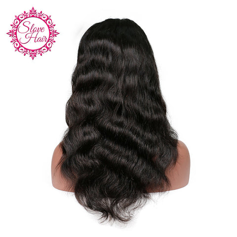 Slove Hair Brazilian Full Lace Human Hair Wigs For Black Women With Baby Hair Remy Human Hair Body Wave Wigs Free Shipping