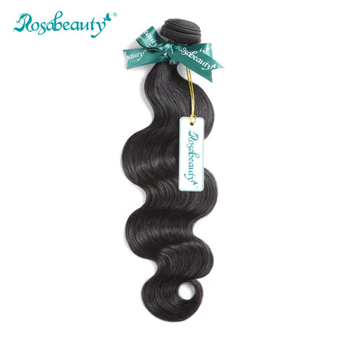 Rosabeauty Peruvian Body Wave Remy Hair Bundles 100% Human Hair Weaving Natural Color Free Shipping