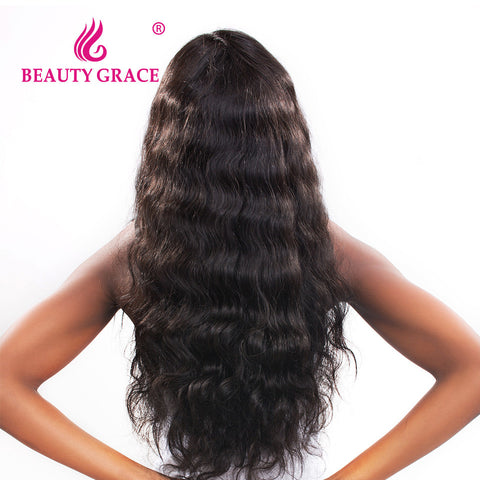 Beauty Grace Brazilian Virgin Hair Body Wave Natural Color Unprocessed 100% Human Hair weave Bundles 10-24 Inch Free Shipping