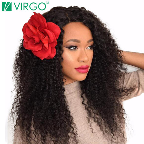 V Only Virgo Malaysian Deep Curly Hair 100% Natural Remy Human Hair Weave Bundles Can Be Dyed And Bleached Full Hair Extensions