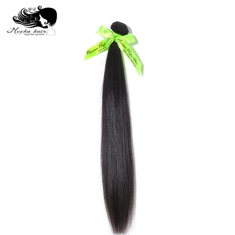 Mocha Hair  Peruvian Virgin Straight  Hair  extension 10inch-28inch Nature Color  100%  Unprocessed Human Hair Weaves