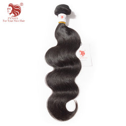 [FYNHA] Brazilian Body Wave Virgin Bundles Machine Double Weft 100% Human Hair Natural Color Free Shipping