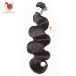 [FYNHA] Brazilian Hair Weave Bundles Remy Hair Body Wave 100% Human Hair Bundles Natural Color Free Shipping