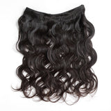 Luvin Brazilian Remy Hair Body Wave 100% Human Hair Weave Bundles Natural Color Free Shipping