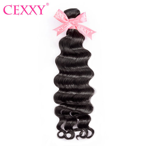 CEXXY Peruvian Hair Natural Wave Remy Hair 100% Human Hair Bundles Unprocessed Hair Weft Free Shipping