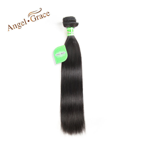 Angel Grace Hair Malaysian Straight Hair Free Shipping 100% Human Hair Weave 10-28 Inch Remy Hair Natural Color