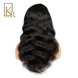 King Rosa Queen Brazilian Lace Front Human Hair Wigs For Black Women With Baby Hair 100% Remy Hair Body Wave Wigs Free Shipping