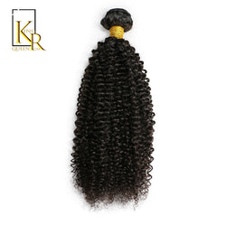 King Rosa Queen Brazilian Kinky Curly Weave Human Hair Afro Curly Bundles Natural Black Color Free Shipping