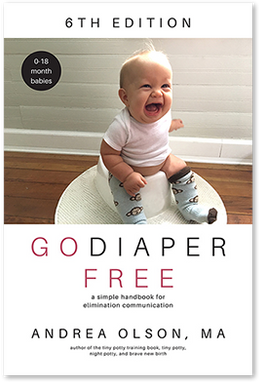 The Go Diaper Free Book 2021 - for 0-18 month babies