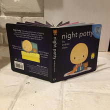 Night Potty board book
