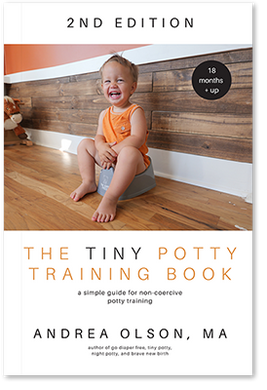 The Tiny Potty Training Book 2021 - for toddlers 18 months and up