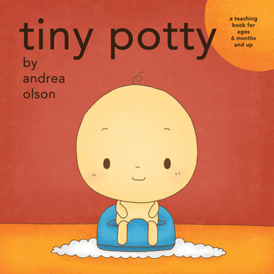 Tiny Potty board book - Clearance