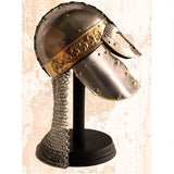 Vintage Nautical-Medieval Chain Helmet-MH101-The Best Handy Crafts