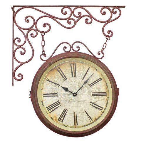 Dasch Design Pomegranate Double Sided Clock 17657