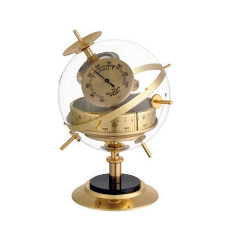 TFA Dostmann-Sputnik Weather Station In Brass-20.2047.52-The Best Handy Crafts