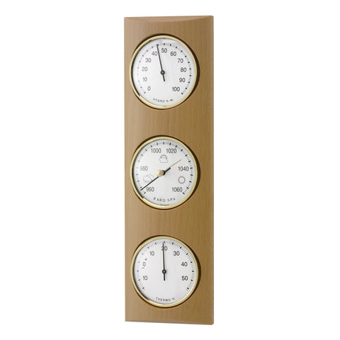 TFA Domatic Weather Station in Natural Beech 20.1028.05