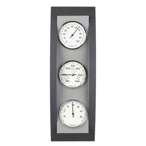 TFA Dostmann-Domatic Weather Station in Anthracite And Aluminium-The Best Handy Crafts