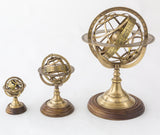 Brass Armillary (Astro Globe) - Large-The Best Handy Crafts