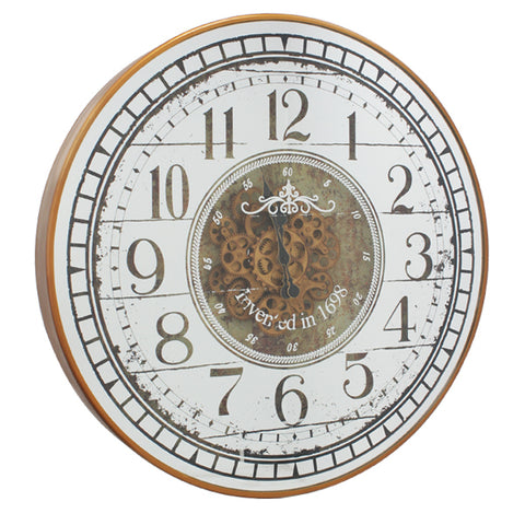 Dasch Design Suffolk Round Clock with Arabic Numerals 20221