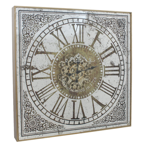 Dasch Design-Birkeshire Wall Clock with Roman Numbers-20225-The Best Handy Crafts