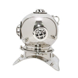 Small Deep Sea Diving Helmet in Chrome-The Best Handy Crafts