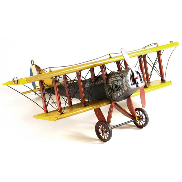 Boyle-Curtis Jenny Small Tin Airplane Model-30121-The Best Handy Crafts