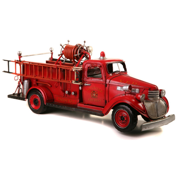 Boyle-Red Chevy Fire Truck Model-30407-The Best Handy Crafts