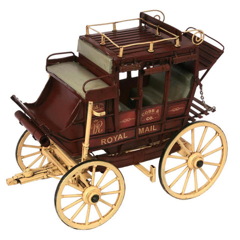 Boyle-Cobb & Co Stagecoach Model-30474-The Best Handy Crafts