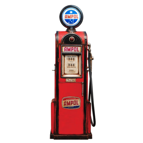 Boyle-Ampol Petrol Bowser Small-30632-The Best Handy Crafts