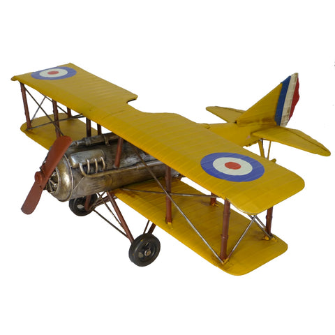Boyle-Curtiss Jenny-Tin Airplane Model-31103-The Best Handy Crafts