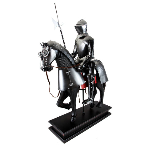 Boyle-Walter Jouster Knight With Poleaxe On Horse-A33000-The Best Handy Crafts