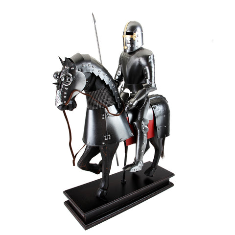 Boyle-Thomas Jouster Knight With Javelin On Horse-A33001-The Best Handy Crafts