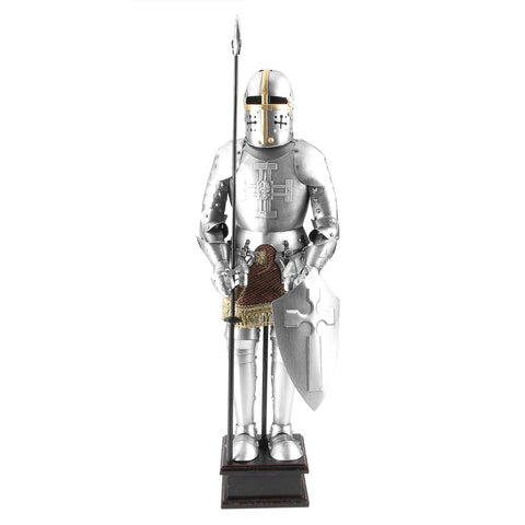 Boyle-Cedric Crusader Knight With Javelin-A33005-The Best Handy Crafts