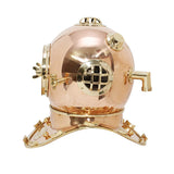 Large Deep Sea Diving Helmet In Copper-The Best Handy Crafts