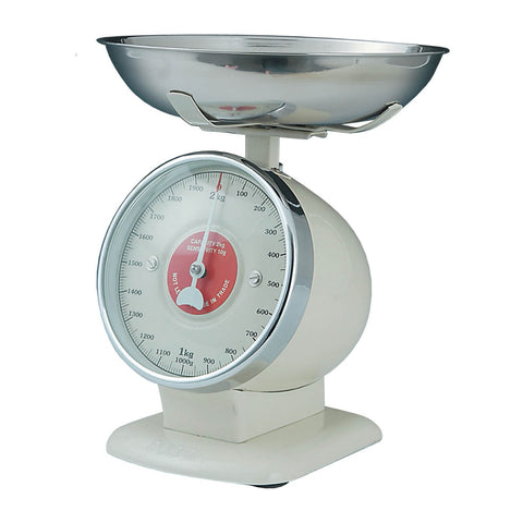 Dulton-Dulton Stream Line Kitchen Scales - Ivory-60092IVO-The Best Handy Crafts