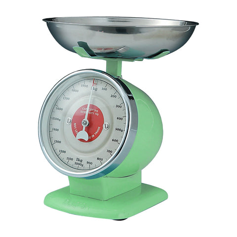 Dulton-Dulton Stream Line Kitchen Scales - Mint Green-60092MIN-The Best Handy Crafts