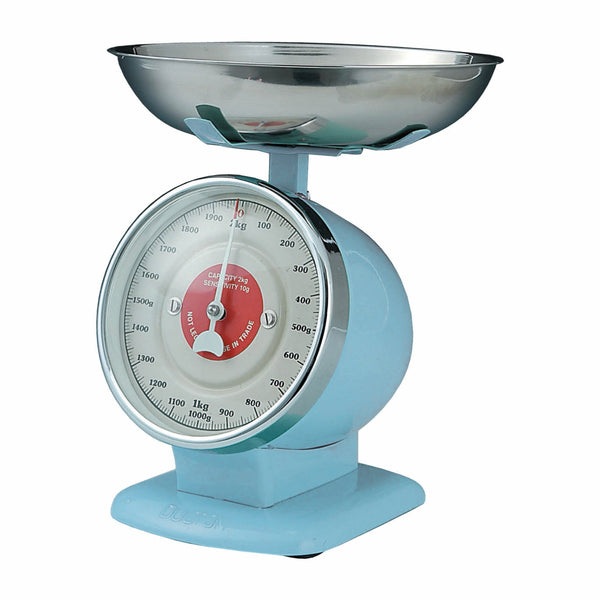 Dulton-Dulton Stream Line Kitchen Scales - Sax Blue-60092SAX-The Best Handy Crafts
