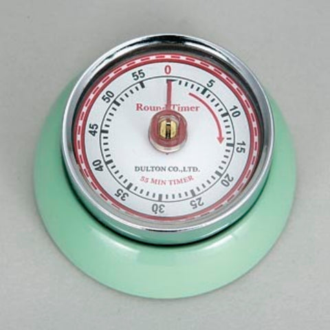 Dulton-Dulton Kitchen Timer - Mint Green-60189MIN-The Best Handy Crafts