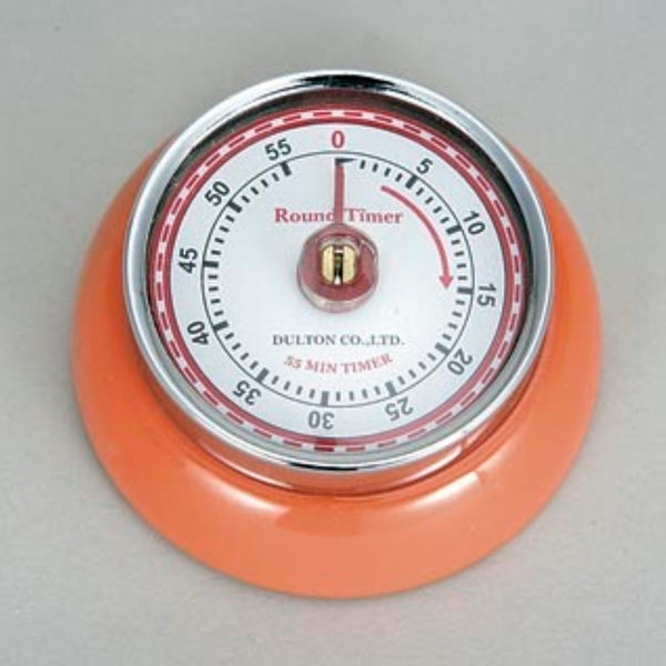 Dulton-Dulton Kitchen Timer - Orange-60189ORA-The Best Handy Crafts