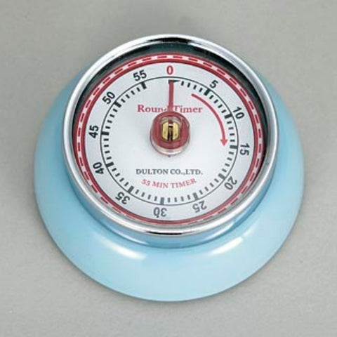 Dulton-Dulton Kitchen Timer - Sax Blue-60189SAX-The Best Handy Crafts