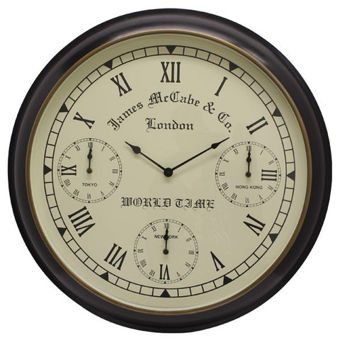 Dasch Design Ruphert Antique Wall Clock 74041