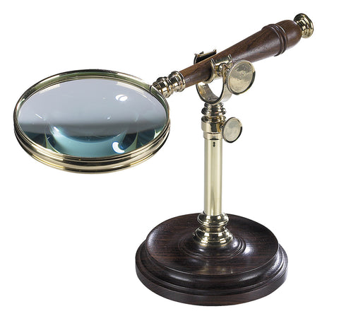 AM Brass Magnifying Glass With Stand AC099A